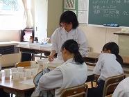 模擬授業の様子(理科)
