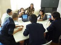 生徒との交流