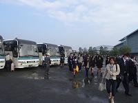 長崎市内研修へ出発!